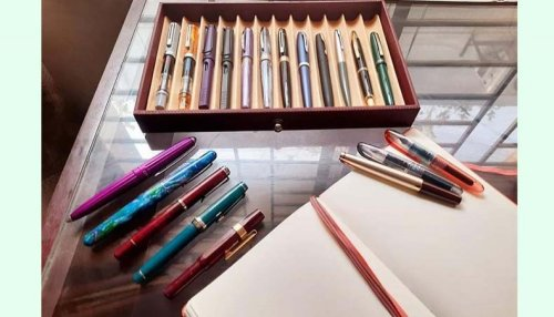 The society of young fountain pen enthusiasts