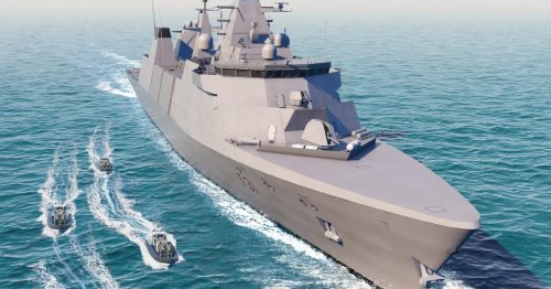 Construction begins on the Royal Navy's first Type 31 frigate