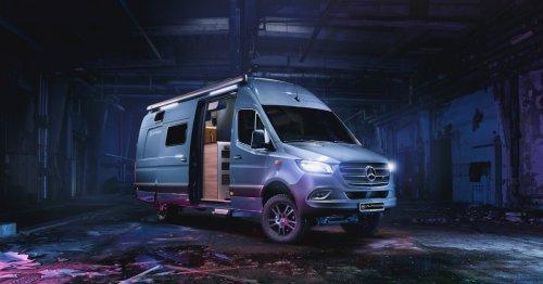 Alphavan 4x4 camper emerges as an off-grid backcountry smart home