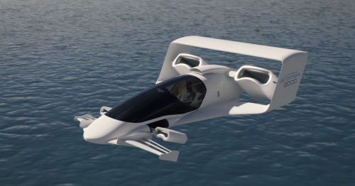 "Jetoptera VTOL aircraft design features ""bladeless fans on steroids"""