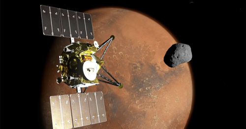 JAXA's MMX mission will capture Mars and its moons in 8K