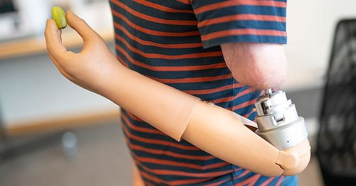 """Mind-controlled prosthetic arms """"feel"""" like the real thing"""