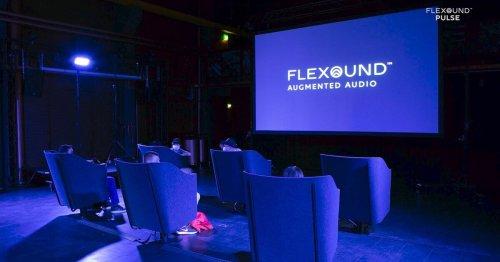 Flexound Pulse envelops movie watchers in their own personal sound bubbles