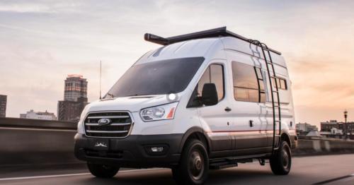 Storyteller drops all-terrain Ford camper van onto US roads and dirt
