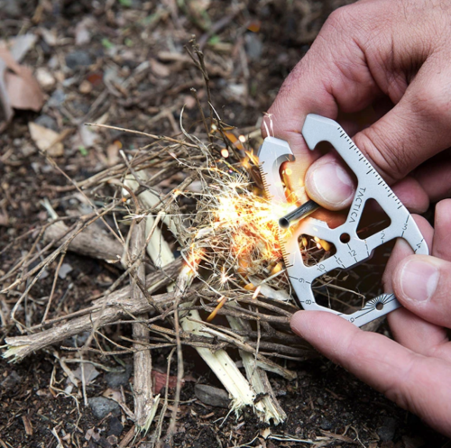 Tactica's M.020 multitool might make setting up camp a breeze