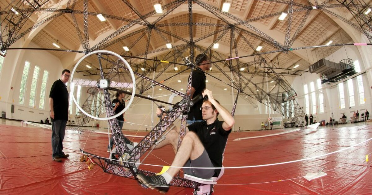 Gamera II human-powered helicopter flight record confirmed by NAA