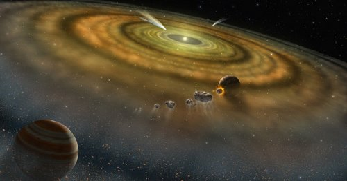 Isotopes suggest solar system formed in under 200,000 years