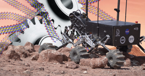 2D nanomaterial shows promise as superlubricant for Mars rovers