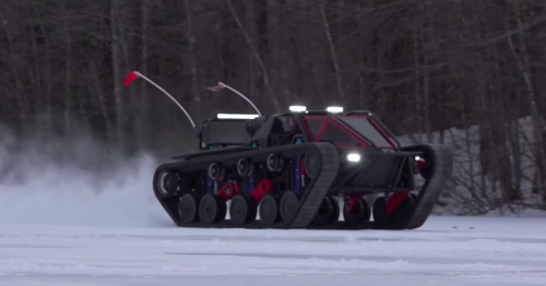 """Ripsaw billed as """"the most obnoxious vehicle ever made,"""" and we're not arguing"""