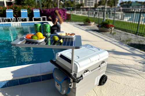 GoSun's portable solar fridge/freezer packs serious off-grid cooling