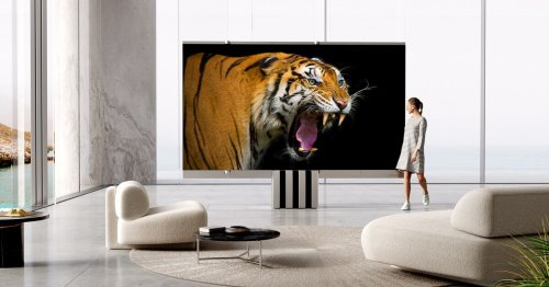 C Seed unfolds monster MicroLED indoor TV