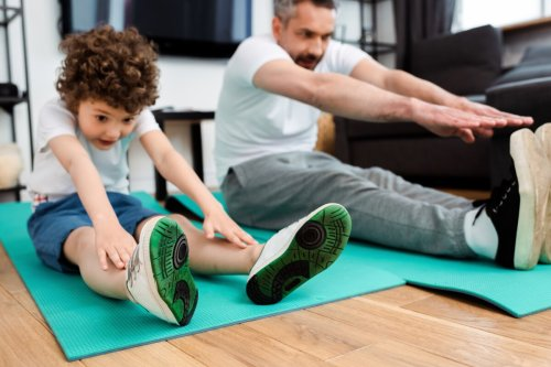 Diet and exercise when young affects brain size and anxiety when older