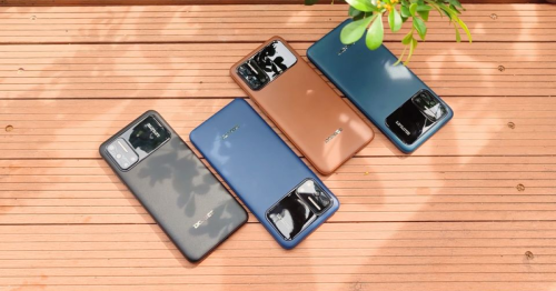 Doogee's latest low-cost leather-bound phone lasts three days on a charge