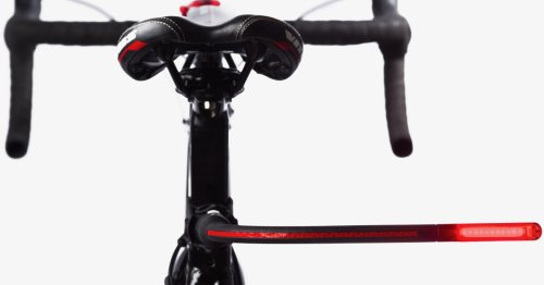 Bendable bike light made to give cyclists some space