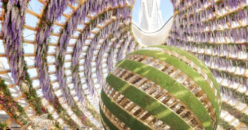 Vincent Callebaut's futuristic Pollinator Park can be visited in VR