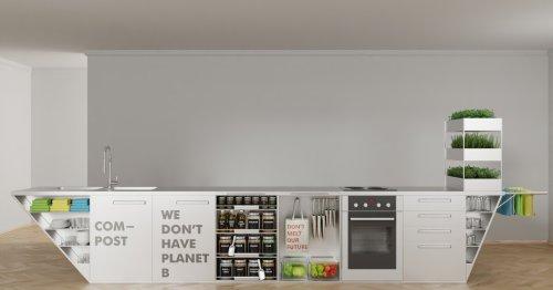 Zero Waste kitchen targets cleaner, greener cooking