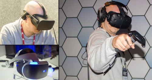 The best VR headset, after a week at GDC