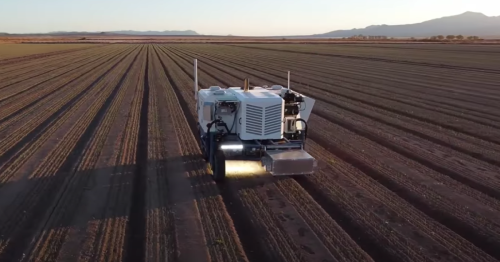 Autonomous Weeder robot uses lasers to take out 100,000 plants an hour