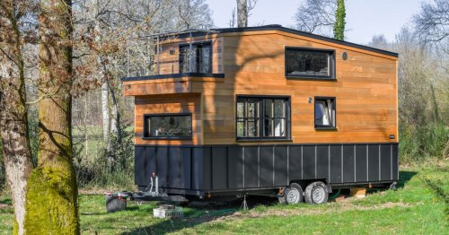 Tiny house hits the right note with built-in music studio