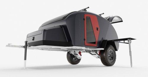 Composite-monocoque Topo2 is sleekest, toughest Escapod camper trailer