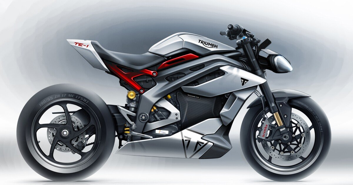 Triumph's TE-1 prototype may be the hottest electric motorcycle yet