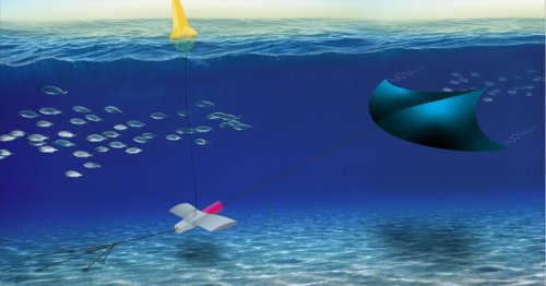 Tidal power system will use an underwater kite to generate electricity