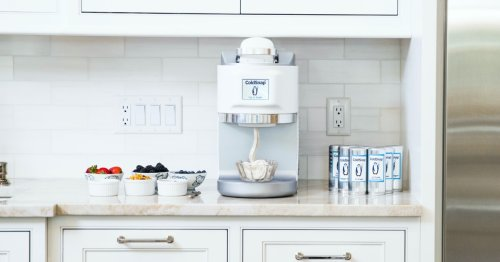 ColdSnap makes single-serving fresh ice cream from unrefrigerated pods