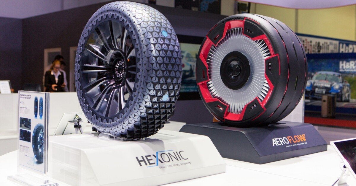 Hankook rolls out Hexonic and Aeroflex concept tires at Essen