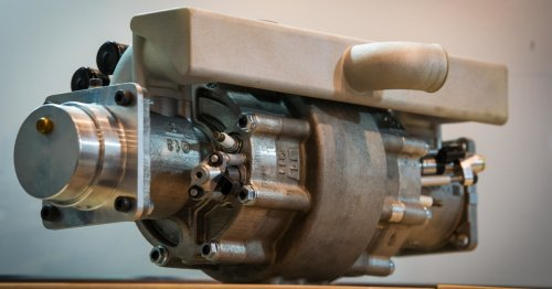 Tiny single-piston hydrogen engine repackages internal combustion