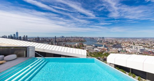 """Amenities-packed luxury tower boasts """"West's highest infinity pool"""""""