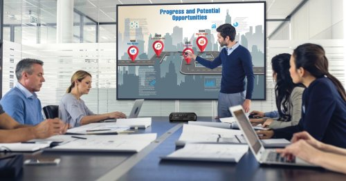 Epson puts presentations on the big screen with latest business projectors