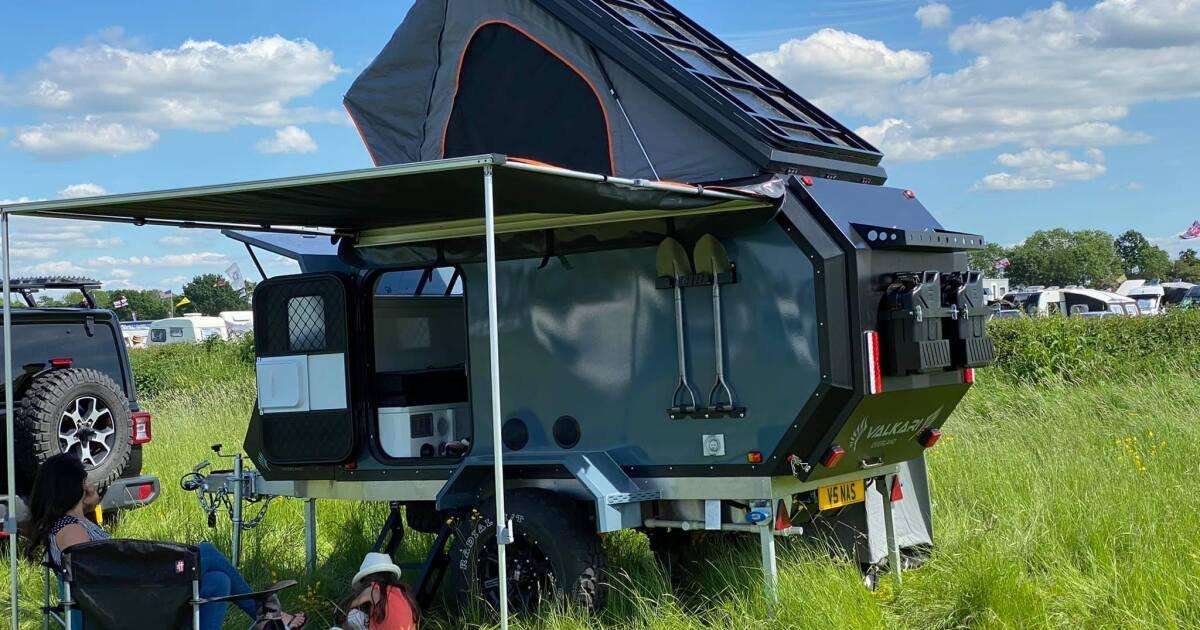Brutish off-grid pop-up camper brings Outback flavor to UK hinterlands