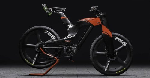 Ryuger goes to production with its outrageous Eidolon carbon ebike