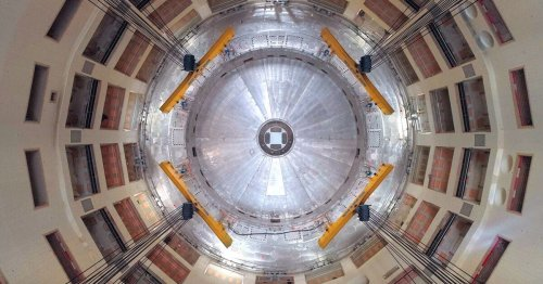 Assembly begins on ITER, the world's largest nuclear fusion reactor