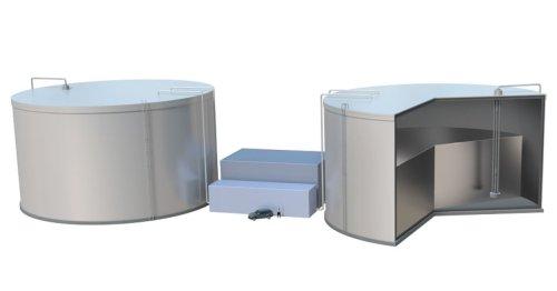 "MIT's conceptual ""sun-in-a-box"" energy storage system plugs into molten silicon"