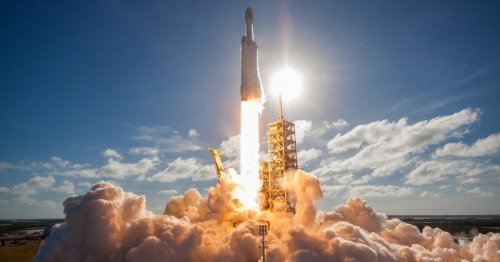 SpaceX's Falcon Heavy to launch NASA's ice-hunting mission to the Moon