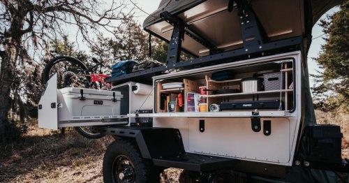 Taxa refreshes its tiny, funky multi-box camping trailer