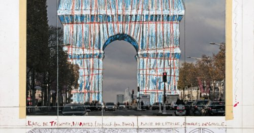 That's a wrap: Plan calls for L'Arc de Triomphe to be covered in fabric
