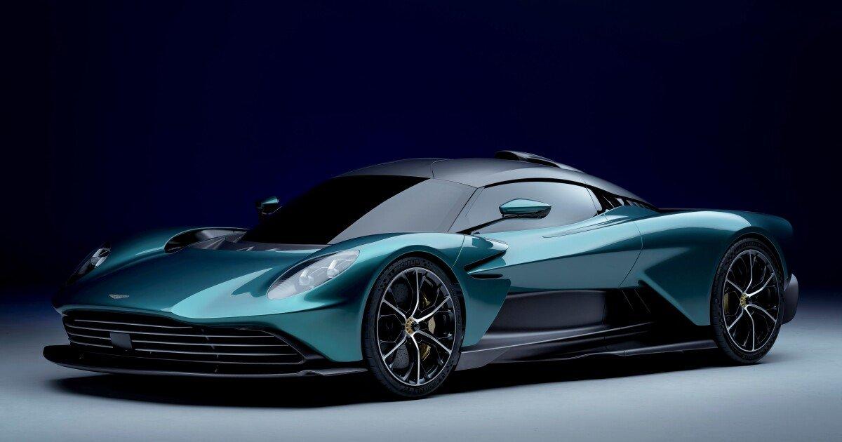 Aston Martin unveils production version of the Valhalla hybrid supercar