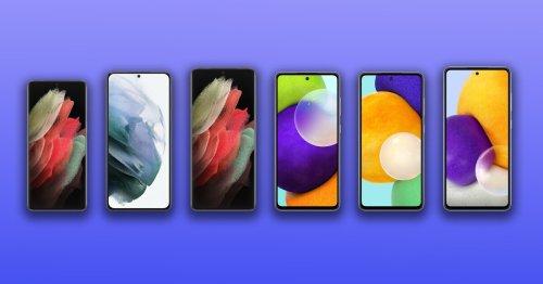 Samsung Galaxy A52, A52 5G and A72 vs. Galaxy S21, S21+ and S21 Ultra