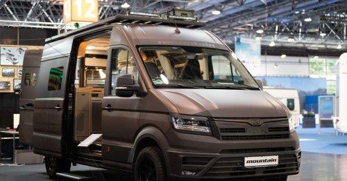 Stunning Rocket Mountain 4x4 camper van seeks adventure and solitude