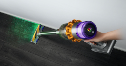 Laser-toting Dyson V15 vacuum collects and categorizes dust
