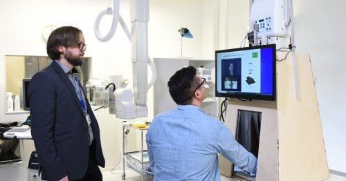 Portable X-ray device would let patients check their own bones