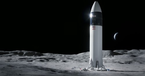 NASA selects SpaceX Starship to ferry next humans to the Moon