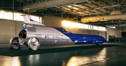 200,000-horsepower Aussie rocket car takes aim at 1,000 mph in 2022