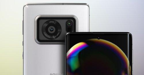 Sharp crams a 1-inch image sensor in Aquos R6 smartphone