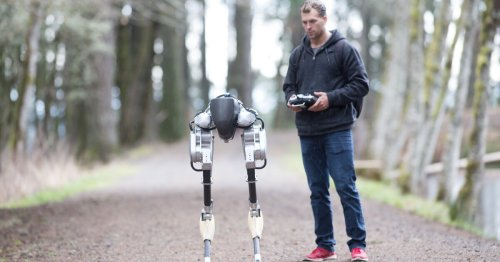 Walking robot takes first steps into the market