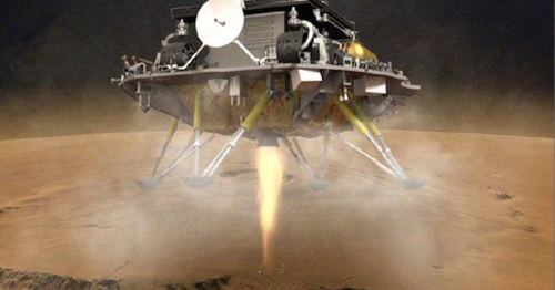 China becomes the third country to land on the surface of Mars