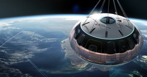 Roll up, roll up! Get your tickets for the great space balloon ride