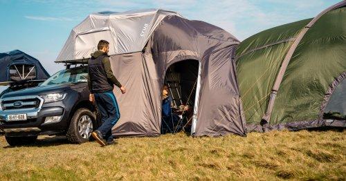 Crua rooftop tent creates a mini RV or modular camping village